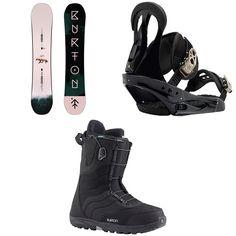 Burton - Yeasayer Snowboard - Women's + Burton Citizen Snowboard Bindings - Women's + Burton Mint Snowboard Boots - Women's 2019