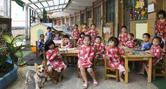 Julian Germain, Future is Ours, Classroom Portraits, 2004-2015. Ruei Fang Junior High School Kindergarden, Ruei Fang Township, Taiwan. Kindergarden, Art. September 15th, 2009.