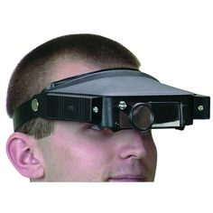 Attention hobbyists and amateur microvascular surgeons—check out the Magnifier Head Strap With Lights from Harbor Freight Tools! Harbor Freight Tools, Light Fittings, Lights, Fitness, Ebay, Magnifying Glass, Watches, Homestead, Headset