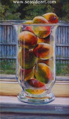 Behind the Scenes at a Painting Demonstration - article by #artist Debra Keirce #art