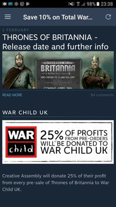 Play a war game, help real victims!