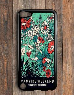 Vampire Weekend Floral iPod Touch 5 Case