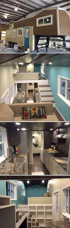 3 bedroom Family Sized Tiny House Interior Tiny House