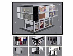 3d store layout