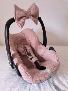 Baby Clothing Upholstery Maxi Cosi Pebble - old pink - waffle - terry - cover Baby ClothingSource : Bekleding Maxi Cosi Pebble - oud roze - wafel - badstof - hoes by Baby Necessities, Everything Baby, My Baby Girl, Baby Baby, Baby Girl Stuff, Baby Girl Bows, Baby Needs, Baby Time, Baby Accessories