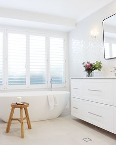 Bathroom Showrooms, Bathroom Renos, Laundry In Bathroom, White Bathroom, Bathroom Renovations, Bathroom Inspo, Bathroom Styling, Bathroom Interior Design, Bathroom Inspiration