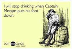 Captain Morgan.... ;)