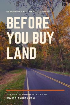 Buying land feels easy - after all, there isn't even anything there! But it's more complicated than you might expect. Find out the essentials you need to know before you buy land. #buyland #landbuying #buildahome Home Heating Systems, Fiber Internet, Find A Realtor, Leesburg Va, Design Your Own Home, Fairfax County, Loudoun County, Got Quotes, Important Facts
