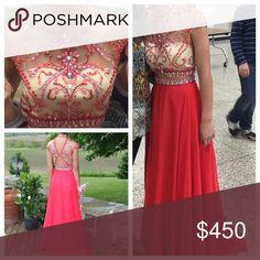 Rachel Allan Prom Dress Red Rachel Allan prom dress worn twice. size 0. originally $650, selling for $450 OBO. Rachel Allan Dresses Prom