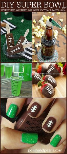 Bowl Party Ideas Super Bowl Party Ideas over at Pin it now and make them later!Super Bowl Party Ideas over at Pin it now and make them later! Football Super Bowl, Football Tailgate, Football Food, Football Season, Football Treats, Superbowl Decor, Football Info, Fox Football, Football Banner