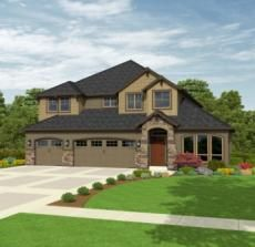 In the running for our final house plan!  Rainer Unfinished Daylight Basement