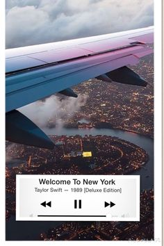 Welcome to New York // taylor swift