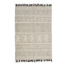 Teppich, Used Look, Baumwolle Vorderansicht