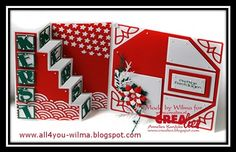 Christmas Card 03-2015 for Creatief Centrum Heesch: http://all4you-wilma.blogspot.nl/2015/08/continuation-2-of-workshop.html