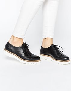 Zapatos Oxford de cuero MATCHED de ASOS