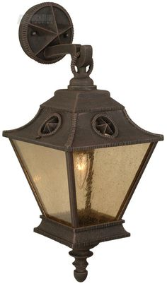 Chaparral Traditional Outdoor Wall Sconce   Small