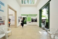 """The 15th International Architecture exhibition – La Biennale di Venezia curated by Chilean architect and Pritzker prize-winner Alejandro Aravena titled """"Reporting from the Front"""" has just finished, and work to restore the German pavilion has begun. #Architecture #Design PH: © Gianluca Giordano"""