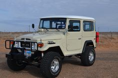 FJ40....ours will look just like this in about a month! Woohoo!
