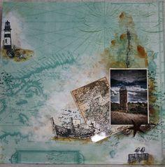Творческая мансарда Элен: Прохладное взморье Blog, Stamps, Crafts, Painting, Art, Seals, Art Background, Manualidades, Painting Art