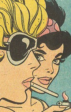 Very frame-able! Love this style of comic pop art