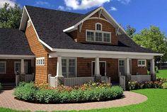 House with bonus room above garage