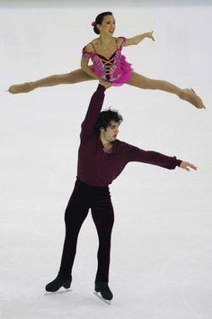 Keauna McLaughlin & Rockne Brubaker ~ World Junior Pair Champions 2007