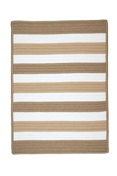 Colonial Mills Portico Sand Indoor / Outdoor Rug - - Braided Rugs - Area Rugs by Style - Area Rugs Coastal Area Rugs, Eagle Lake, Braided Area Rugs, Striped Rug, Rectangular Rugs, Indoor Outdoor Area Rugs, Contemporary Rugs, Woven Rug, Rug Size