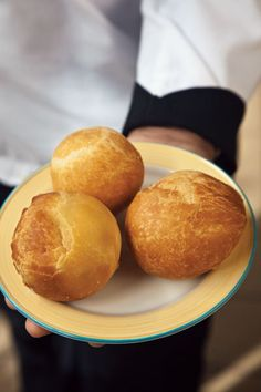 Jamaican Johnnycakes Recipe - These fluffy fried dumplings, served at the Wyndham Kingston Jamaica, are great alongside ackee and saltfish. johnnycakes are the besttt Jamaican Cuisine, Jamaican Dishes, Jamaican Recipes, Jamaican Desserts, Jamaican Chicken, Jamaican Curry, Jerk Chicken, Carribean Food, Caribbean Recipes