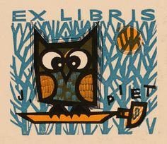 Piet Janssens | #exlibris #bookplate