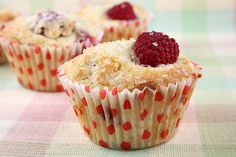 These Sugar-Crusted Fresh Raspberry Muffins are the perfect summer, breakfast treat. Among dozens of muffin recipes...