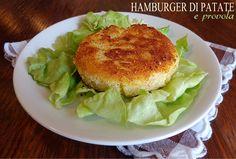 Hamburger di patate e provola, ricetta secondo sfizioso