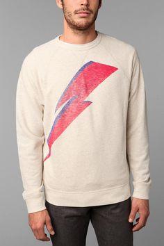 Junk Food Bowie Bolt Sweatshirt  #UrbanOutfitters