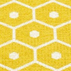 Pappelina Honey Mustard And Vanilla Rug