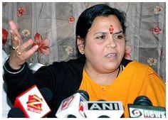 #Uma_Bharti apologises for #BJP's Vision Document Goof-Up