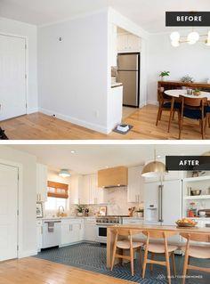 White Shaker Kitchen Cabinets, Kitchen Cabinet Kings, House Seasons, California Living, Home Renovation, Countertops, Mid-century Modern, Interior Design