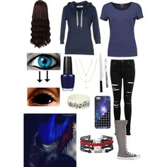 Creepypasta: Daughter of Eyeless Jack by ender1027 on Polyvore