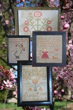 The Birds and the Bees 4 Little Springtyme by HeartstringSamplery, $15.00
