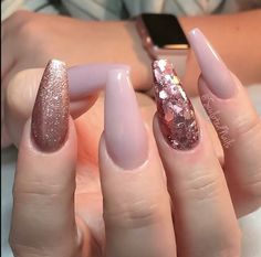 Pretty nude nails #nailgoals