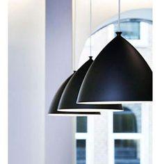 Slope 35 - Black Pendant Light withWhite Interior by Nordlux