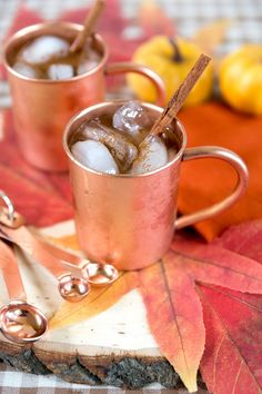 A cocktail that is reminiscent of the always-popular pumpkin pie - The Pumpkin Spice Moscow Mule.