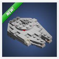 LEGO Christmas Millennium Falcon by Chris McVeigh