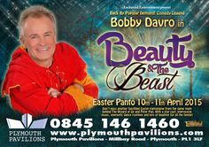 Bobby Davro is returning to Plymouth in this years Easter Panto - Beauty and the Beast!