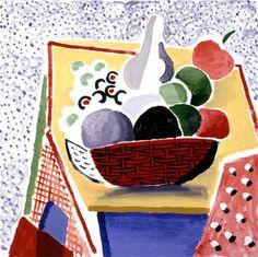 DAVID HOCKNEY: Fruit and Spotted Floor
