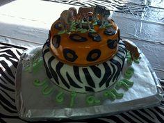 Animal jam cake made for my daughter.