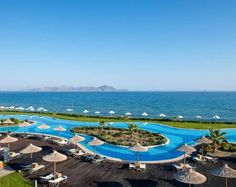 Find great Astir Odysseus Kos Resort & Spa deals today - save with no hotel booking fees! Located in Kos, this hotel is close to Lido Waterpark and more! Karpathos, Skiathos, Samos, Greece Resorts, Greece Hotels, Kos Hotel, Hotel Spa, Hotel Amenities, Luxury Accommodation