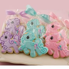 My Little Pony cookies!!!!!! OMG! cake my little pony cake birthday party cake girl pink blue rainbow cookie cupcake