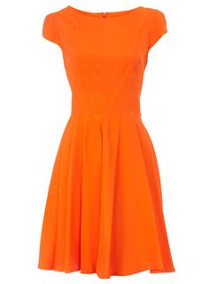 Orange Circle Dress from Dorothy Perkins