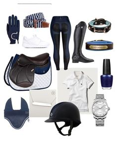 navy and white rootd by arianadaconceicao on Polyvore featuring polyvore, fashion, style, NIKE, Calvin Klein and OPI
