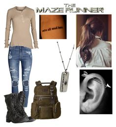 """The Maze Runner"" by azariahgriggs on Polyvore featuring H&M, AllSaints, Tumi, women's clothing, women, female, woman, misses and juniors"
