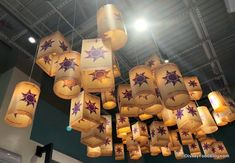 Tangled Lantern Chandeliers at Disney Style Store Tangled Room, Rapunzel Room, Tangled Party Decorations, Tangled Lanterns, Tangled Wedding, Rapunzel Birthday Party, Debut Ideas, Style Store, Disney Rooms